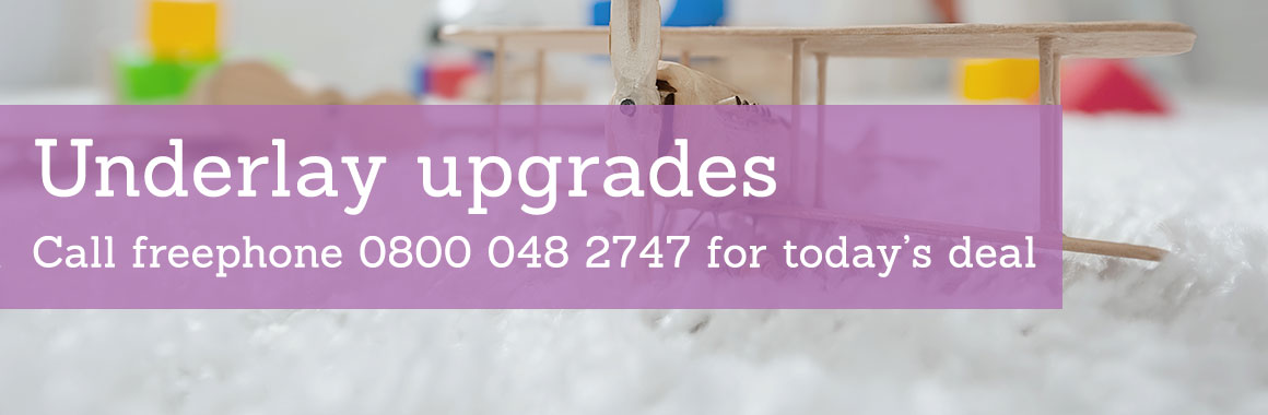 Underlay upgrade deals