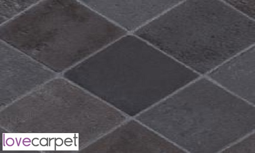 Cottage Stone. Carbon and Tarkett Homestyle (Vinyl)